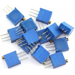 10pcs 3296W  Trimpot Trimmer Potentiometer High Precision Variable Resistor With