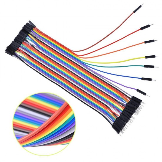 40P color cable Dupont line female-female male female male-40 of male / discharge 10/20 / 30CM