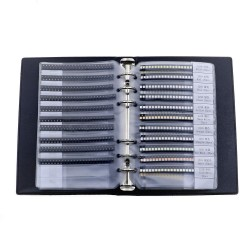 0402 0603 0805 1206 1210 2835 5730 5050 SMD LED Diode Sample Book Red/Green/Blue/White/Yellow/Warm White/Orange/Purple/Ice Blue