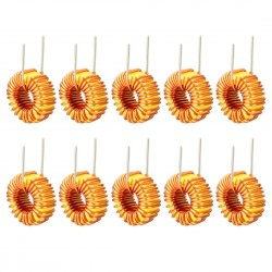 10pcs Toroid Core Inductor Wire Wind Wound mah--22uH 33uH 47uH 100uH 220uH 330uH 470uH
