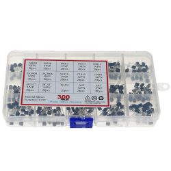 300pcs 15 Values Transistor Assorted Kit TO-92 S9012 S9013 S9014 S8050 S8550 2N3904 2N3906 BC327 BC337 TL431 MPSA42 MPSA92 A1015
